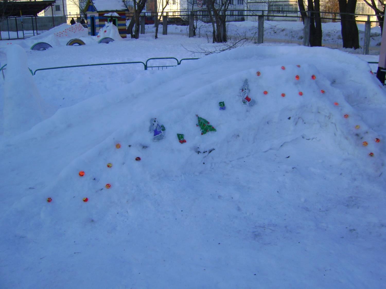 Ледяные горки своими руками 684